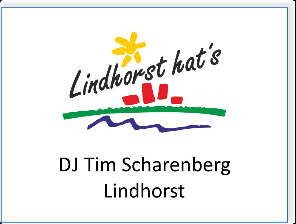 DJ Tim Scharenberg in Lindhorst