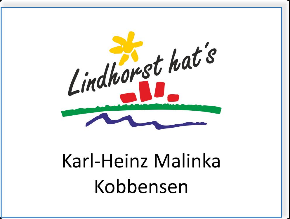 Karl-Heinz Malinka in Kobbensen
