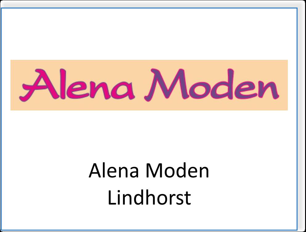 Alena Moden in Lindhorst