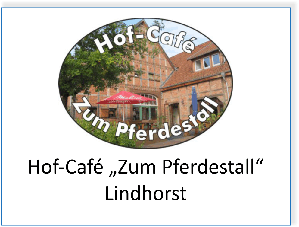 "Hof-Café ""Zum Pferdestall"" in Lindhorst"