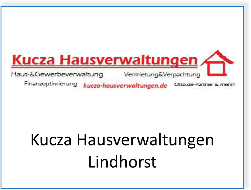 Kucza Hausverwaltungen in Lindhorst