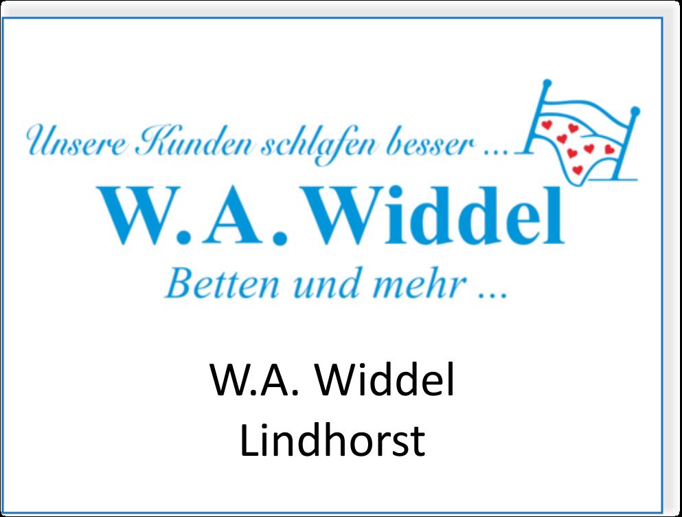 W.A. Widdel in Lindhorst