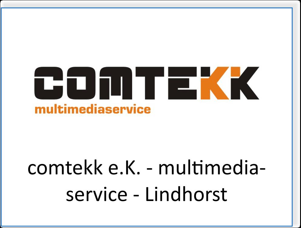 Comtekk e.K. Multimediaservice in Lindhorst