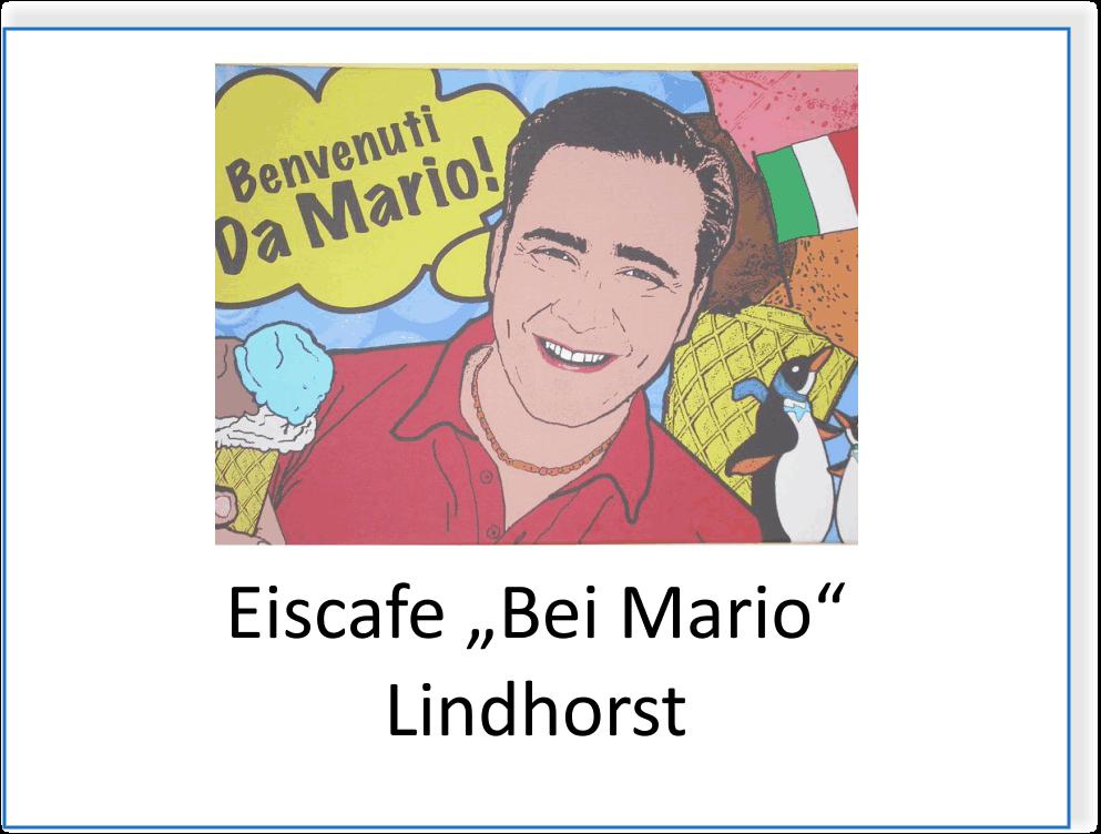 """Eiscafe """"Bei Mario"""" in Lindhorst"""