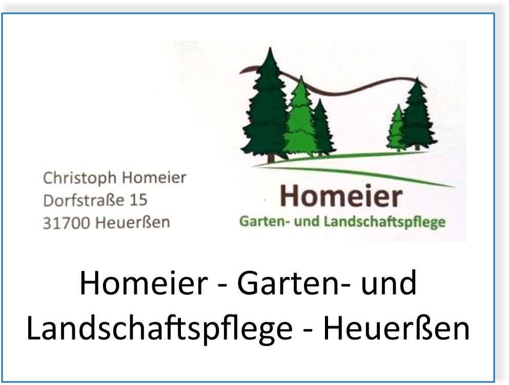 Homeier Garten- und Landschaftspflege in Heuerßen