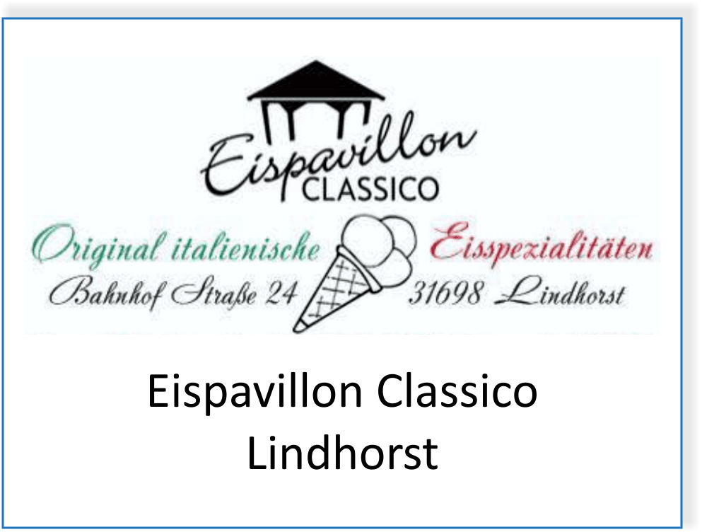 Eispavillon Classico in Lindhorst