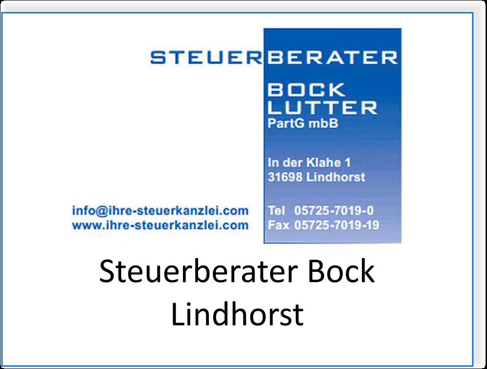 Steuerberater Bock in Lindhorst